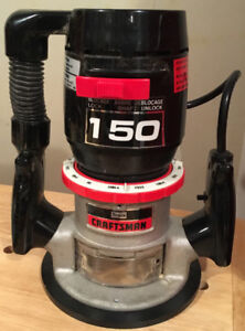 Craftsman Router with Set of Router Bits