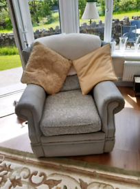 Two piece suite (single seater & three seater sofa)