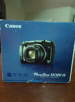 Barely used Canon PowerShot SX120 IS