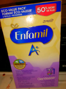 Looking for Enfamil A+ Gentlease formula for my baby boy