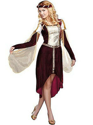 My Lady Renaissance Dress Adult L Large 12-14 Costume Woman Halloween Queen