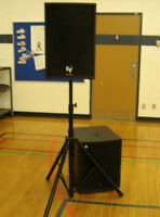 Sound / PA system *and sound man* for your wedding - only $250!
