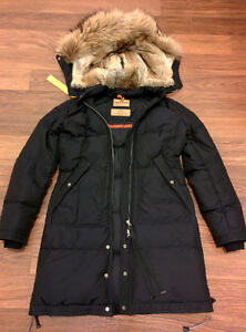 Women's Parajumpers Long Bear XS Black - MINT CONDITION