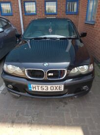 selling bmw 320d for 3500£. (price can be talked about.)