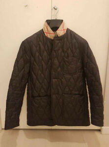 Like New Authentic Burberry Brit Diamond quilted Men's Jacket