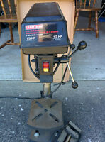 "Drill Press Craftsman 8"" 5 speed 1/3 hp"