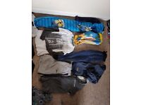 Bundle of boys clothes, 9-10 years some new