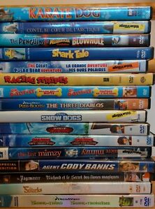 Lot of 28 Kids DVDs - $45 for all