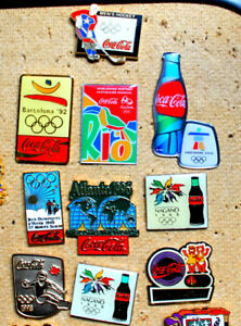 "Reduced Coca -Cola ""coke"" lapel pins"