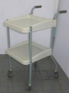 Chariot avec 2 tablettes 2 shelfs cart