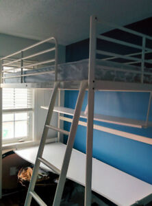 Bunk Bed with Desk Underneath