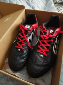 Canterbury Rugby Cleats Size 12 Mens (Worn once)