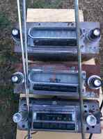 Old am car radios