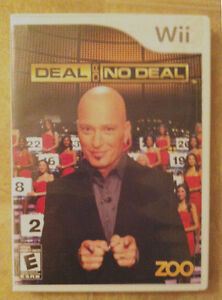 Wii Deal or No Deal with Howie Mandel