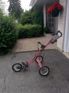 Sun Mountain 3-wheel golf push cart