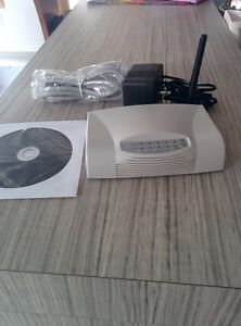 BLANC Wireless-G Broadband Router (brand new) West Island Greater Montréal image 1