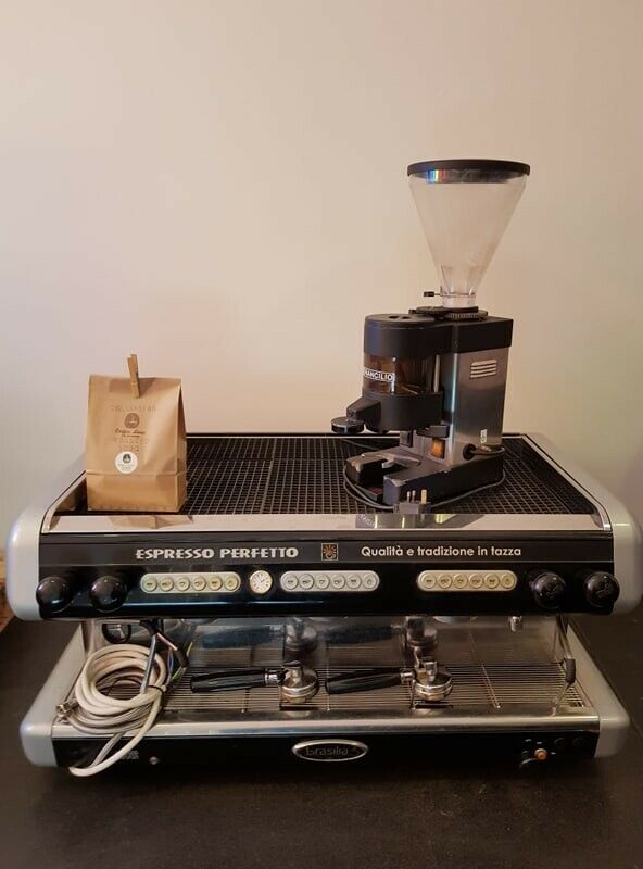 Brasilia Opus 3 Group Commercial Coffee Machine Grinder & 500g roasted  columbian coffee beans | in South Shields, Tyne and Wear | Gumtree