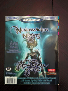 Neverwinter night official adventure guide