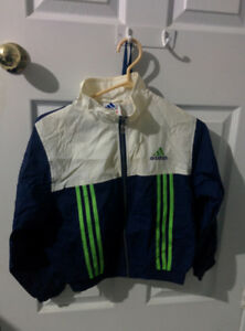 Adidas kids retro windbreaker