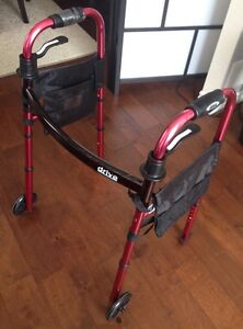 """Brand new Foldable """"Drive"""" Walker with Wheels"""