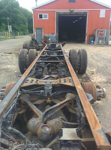 2007 KENWORTH T800 CHASSIS FRAME ASSEMBLY