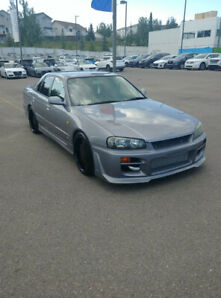 1998 Skyline R34 GTT Manual