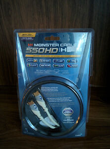 BNIB Monster 550HD HDMI Cable (4m=13ft)