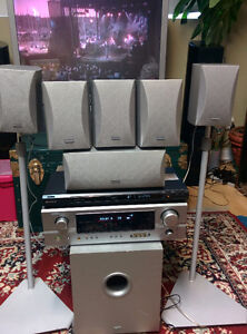 Denon Home Theater System + Sony DVD Player