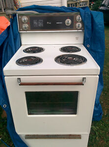 "Free 24"" stove and full size dryer"