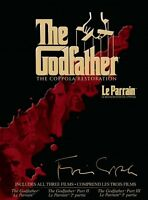 The Godfather Complete Set DVD $30.00