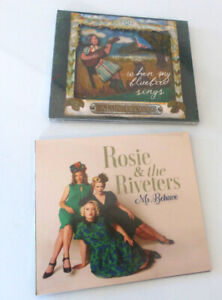 CDs new in wrap Rosie and the Riveters, and Mary Flower