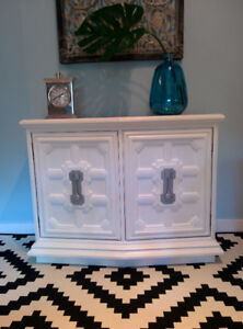 Cabinet console table