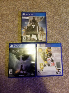Playstation 4 Games Good Condition PS4