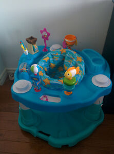ExerSaucer with 3 levels