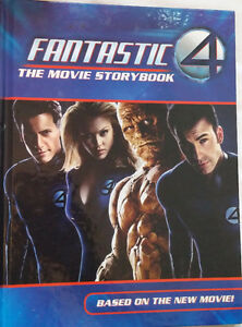 Fantastic 4 Movie Photo Storybook Hard Cover Book