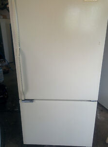 FRIDGES:   Freezer on the bottom and side by side