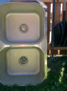 Stainless Sink - Double, Undermount