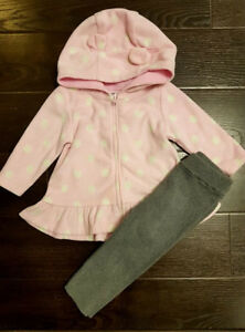 Fall/winter clothes for baby girl size 6-12months