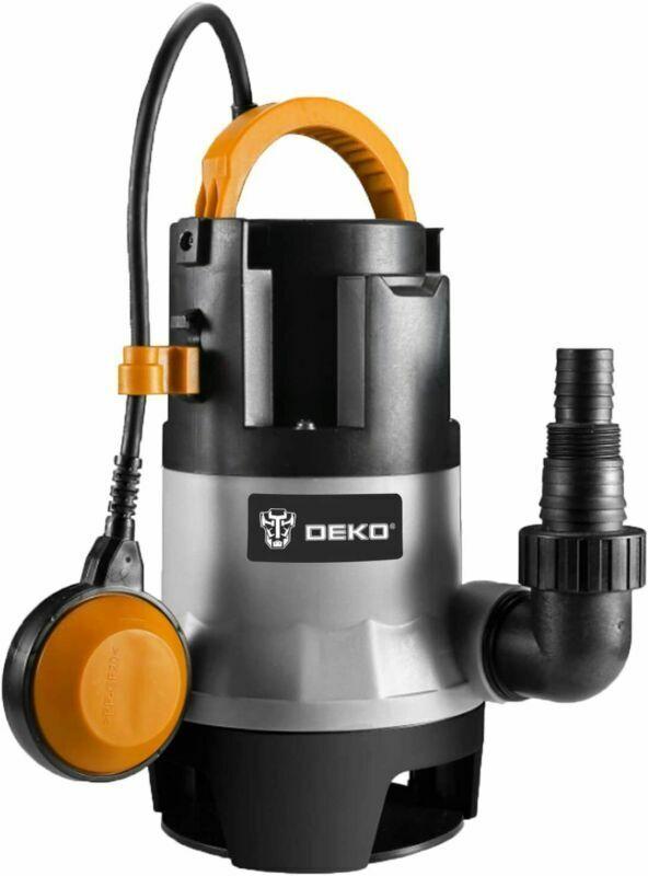 DEKO Sump Pump 1HP 3302GPH 750W Submersible Clean/Dirty Wate