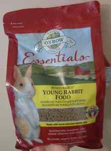 High Quality Young Rabbit Food unopened