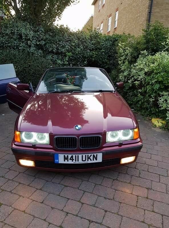 1995 Bmw e36 318i convertible M-pack