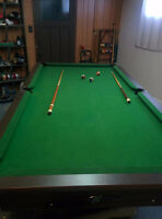 4x8 national pool table