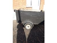 "Trailer For Sale - 5ft x 3ft with 27"" depth High Sides"