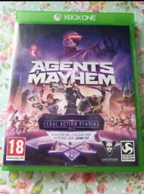 Xbox one Agents of Mayhem game
