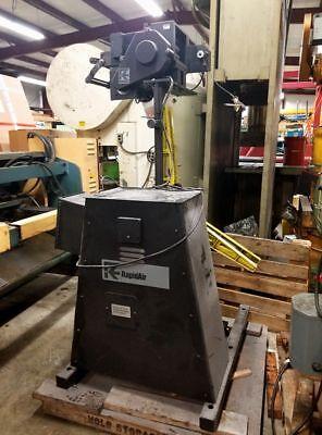 Rapid Air Model Sbx8 Roll Stock Straightener Rma 1506 Non Powered Stock Reel