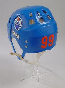 Wayne Gretzky game used worn jersey gloves helmet stick values