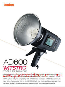 Godox AD 600B TTL Strobe Flash Light with Bowens Mount