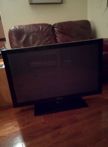 Samsung 42 in flat screen television- for repair  VENDU/ SOLD