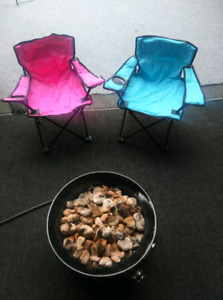 Junior camping/deck chairs