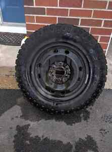 Goodyear Wrangler Duratracs on Steel Rims